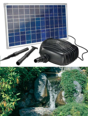 Solární sada pro zahradní potůčky Esotec Garda