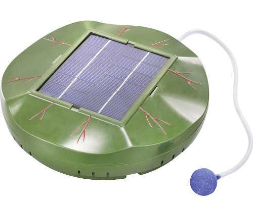 Solární plovoucí ostrůvek - provzdušňovač pro jezírka Esotec