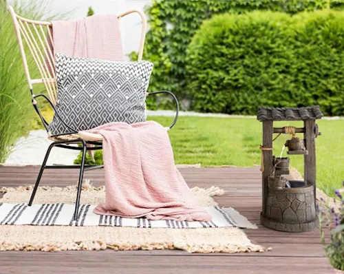 Kašna na terasu pro odpočinek a relaxaci