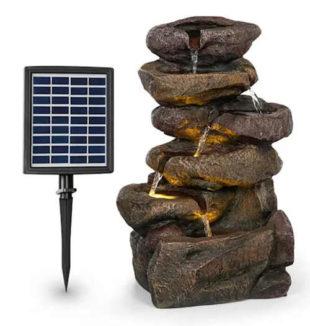 Solární fontána do vnitřního i venkovního prostředí blumfeldt Savona